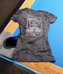 Womens' Burnout Tee (back)